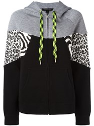 Marc Jacobs Zipped Hoodie Black