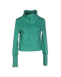 Trussardi Jeans Coats And Jackets Jackets Women Green
