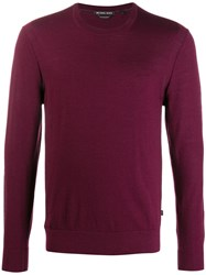 Michael Kors Crew Neck Fitted Jumper 60