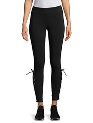 Marc New York Lace Up Leggings Black
