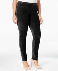 Styleandco. Style Co. Plus Size Corduroy Leggings Only At Macy's Deep Black