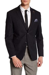 Original Penguin Notch Collar Wool Sport Coat Gray