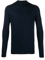 Pringle Of Scotland Mock Neck Merino Wool Jumper 60