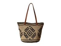 Billabong East Of Dover Tote Off Black Tote Handbags