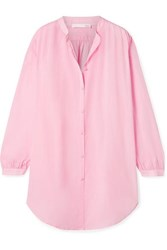 Skin Brea Crinkled Cotton Voile Shirt Baby Pink