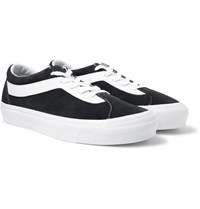 Vans Staple Bold Ni Suede And Leather Sneakers Black