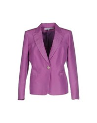 Gai Mattiolo Suits And Jackets Blazers Women Purple