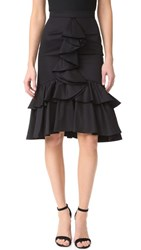Tome Mermaid Skirt Black
