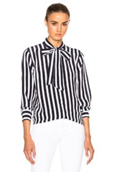 Ag Adriano Goldschmied Arley Shirt In Stripes