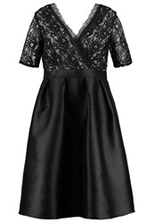 Little Mistress Curvy Cocktail Dress Party Dress Black Mink