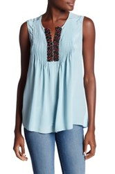 Bailey 44 Bloom V Neck Tank Green