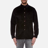 Nudie Jeans Men's Calle Cord Shirt Black