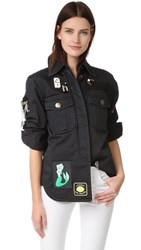 Marc Jacobs Padded Military Shirt Black