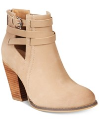 Call It Spring Magliaro Cutout Booties Women's Shoes Nude
