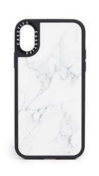 Casetify Marble Iphone X Xs Case White Marble