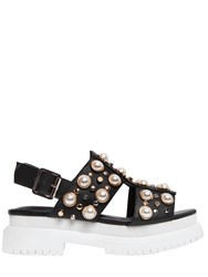 Jeffrey Campbell 50Mm Pilos Studded Leather Sandals