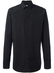 Givenchy Embroidered Collar Shirt Black