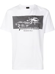 Billionaire Members Only T Shirt White