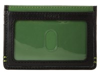 Lodis Accessories Mini Id Case Green Credit Card Wallet