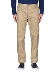 Dandg Trousers Casual Trousers Men Beige