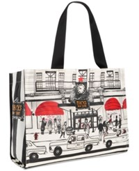 Macy's Storefront Tote Multi
