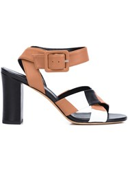 Derek Lam Criss Cross Sandals Brown