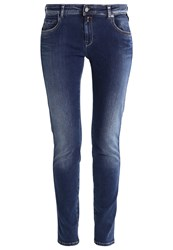 Replay Katewin Straight Leg Jeans Dark Blue Denim Dark Blue Denim