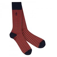 London Sock Company Eleni Red