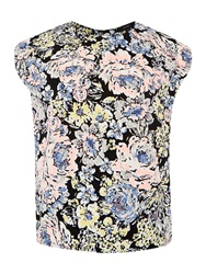 Therapy Pastel Floral Shell Top Multi Coloured
