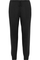 Skin Myla Stretch Jersey Track Pants Black