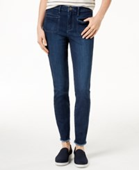 Maison Jules Frayed Skinny Jeans Created For Macy's Orleans Wash