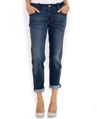 Levi's Straight Leg Boyfriend Fit Jeans Shark Blue Wash
