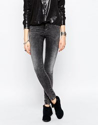 Noisy May Lucy Super Slim Washed Black Jean Dgd 32
