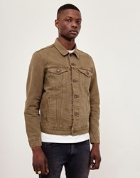 Levi's Red Tab The Trucker Jacket Khaki Green