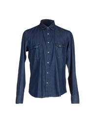 Alessandro Dell'acqua Denim Denim Shirts Men Blue