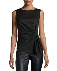 Bailey 44 Sleeveless Stretch Knit Top Black
