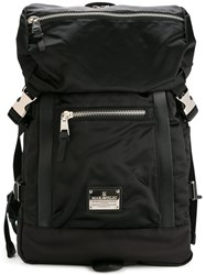 Makavelic Zip Detail Backpack Black