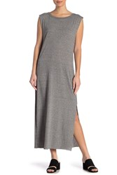 Current Elliott The Delphi Tank Maxi Dress Heather Grey Jersey