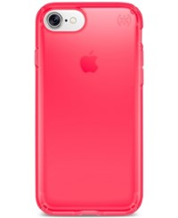 Speck Presidio Clear Iphone 7 Case Neon Pink
