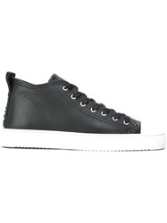 Les Artists Art Ists Lace Up Hi Tops Black