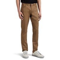 Theory Haydin Slim Straight Trousers Olive