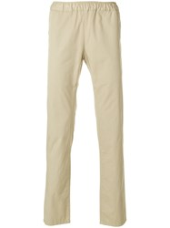 Homecore Elastic Waist Chinos Nude And Neutrals
