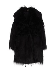 Space Style Concept Coats And Jackets Faux Furs Women Black