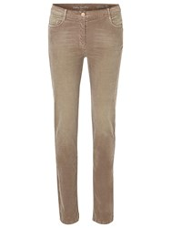 Betty Barclay Needle Cord Jeans Taupe