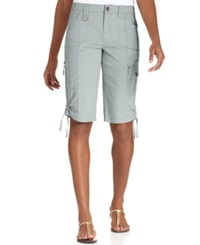 Style And Co. Zip Pocket Tummy Bermuda Shorts