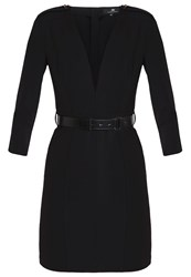 Elisabetta Franchi Shift Dress Nero Black