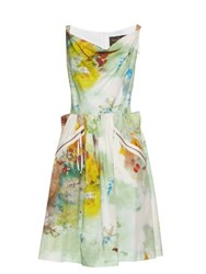 Vivienne Westwood Art Lover Punk Monroe Cotton Dress Multi
