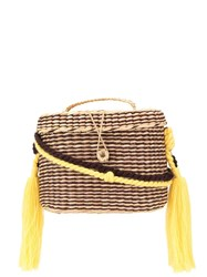 Nannacay Kiki Medium Rope Handle Tote Bag Brown