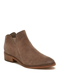 Dolce Vita Women's Tay Suede Booties Dark Taupe