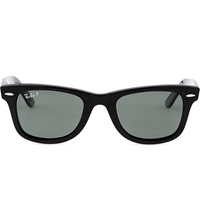 Ray Ban Black Thick Frame Wayfarer Sunglasses Rb2140